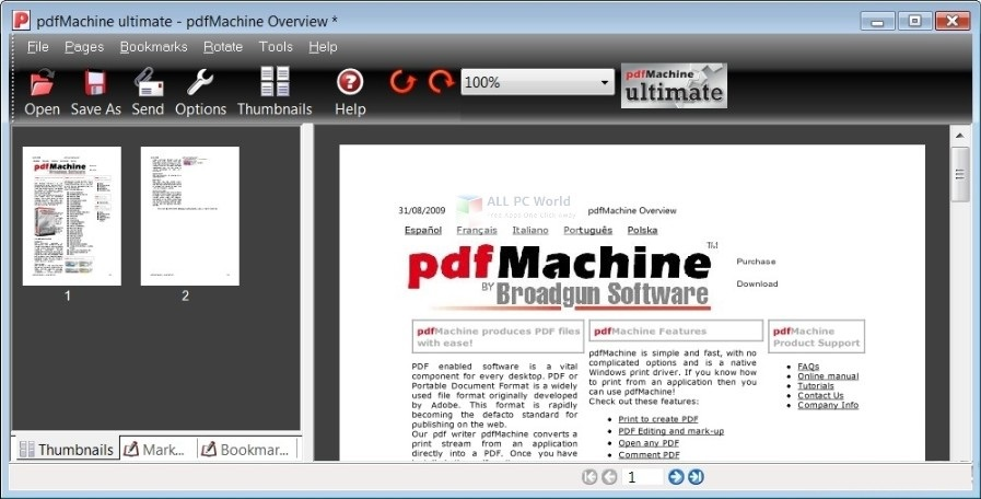 Broadgun pdfMachine Ultimate 15.14 Free Download