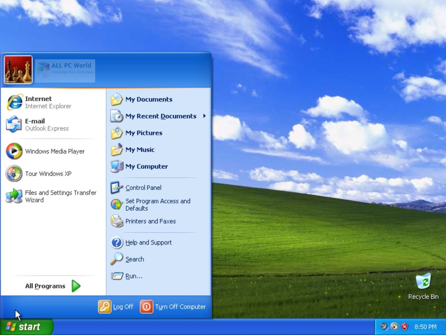 Windows XP Professional SP3 August 2018 Free Download