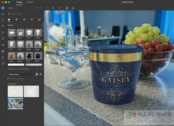 Download Adobe Dimension CC 2018 Free - ALL PC World