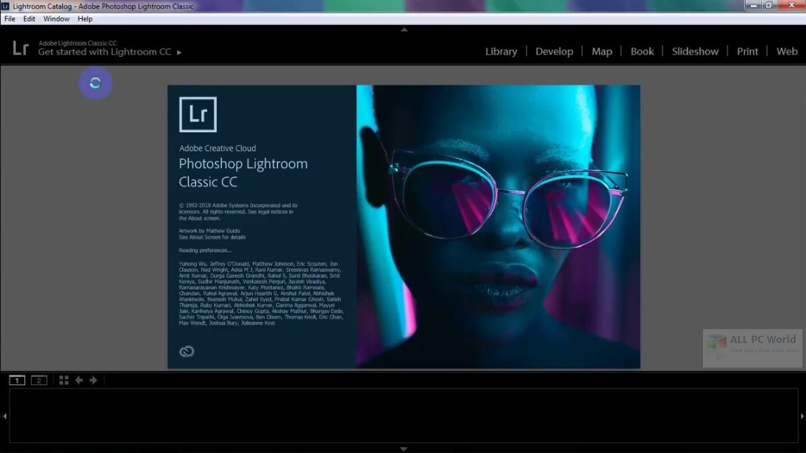 Adobe Photoshop Lightroom Classic CC 2018 7.5 Free Download