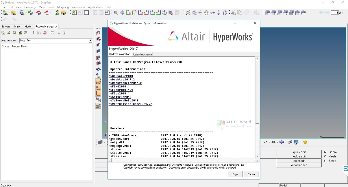 Altair HyperWorks 2018 Free Download