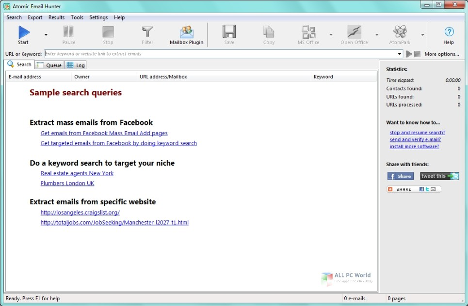 Atomic Email Hunter 14.4 Free Download