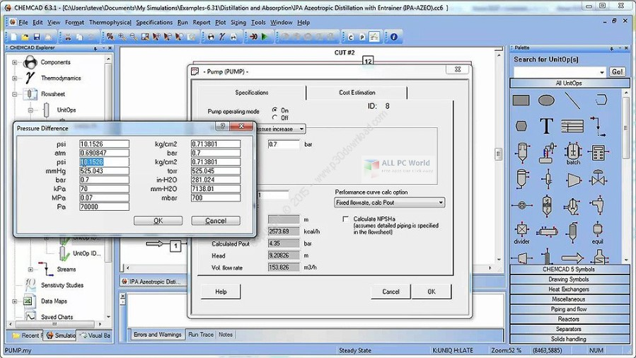 Chemstations CHEMCAD Suite 7.1 Free Download