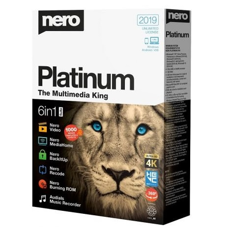 Download Nero 2019 Platinum Suite 20.0 Free