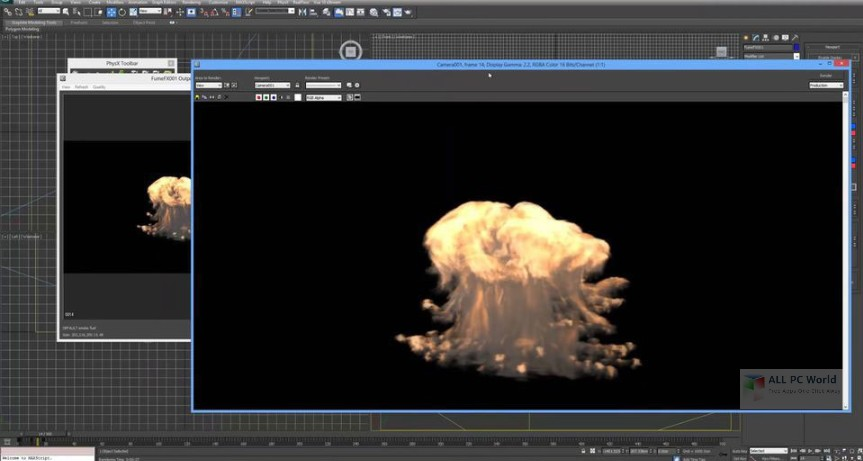 SitniSati FumeFX 4.1 for 3ds Max 2018 Free Download
