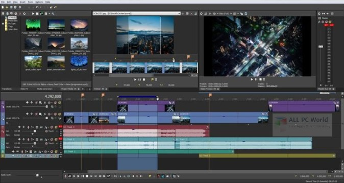 Download Sony VEGAS Pro 16 0 Free - ALL PC World