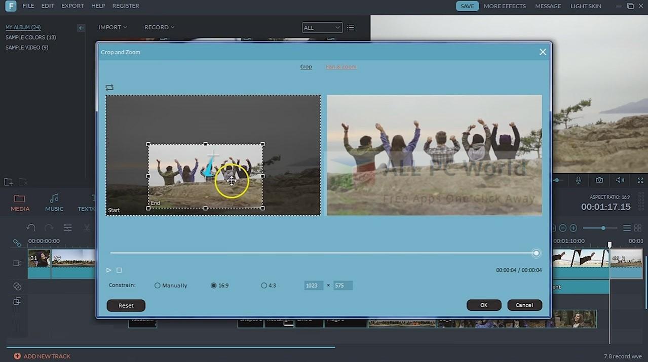 wondershare filmora crack 8.7.1.4 full keygen download