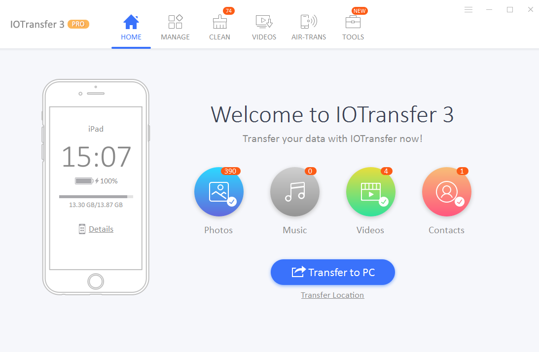 IOTransfer 3 Free Download