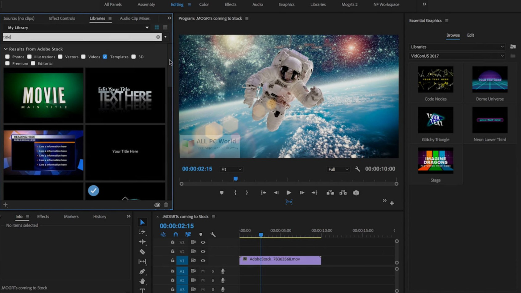 Adobe After Effects CC 2019 Free Download - ALL PC World