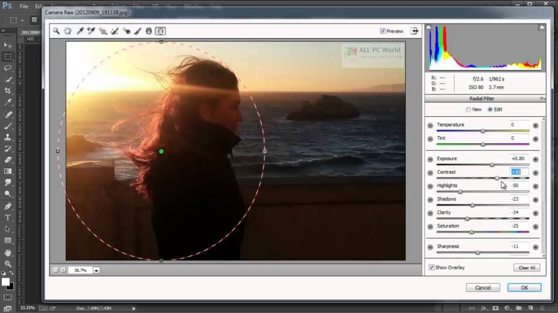 Camera Raw plug-in and Adobe application compatibility