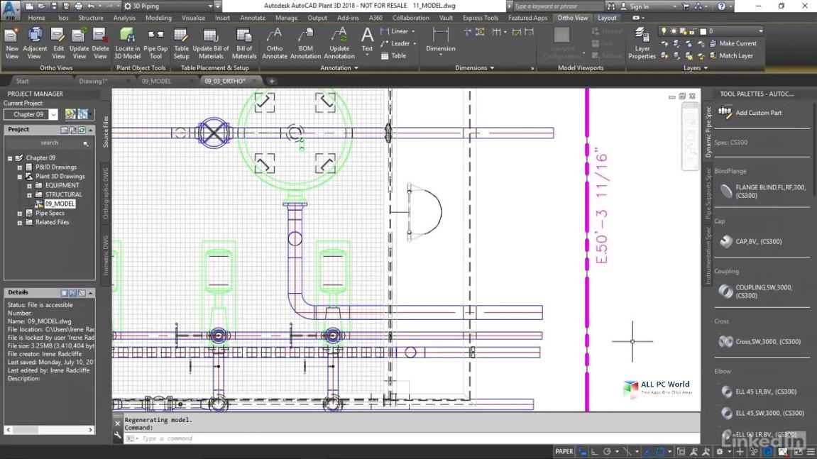 AutoCAD Plant 3D 2019