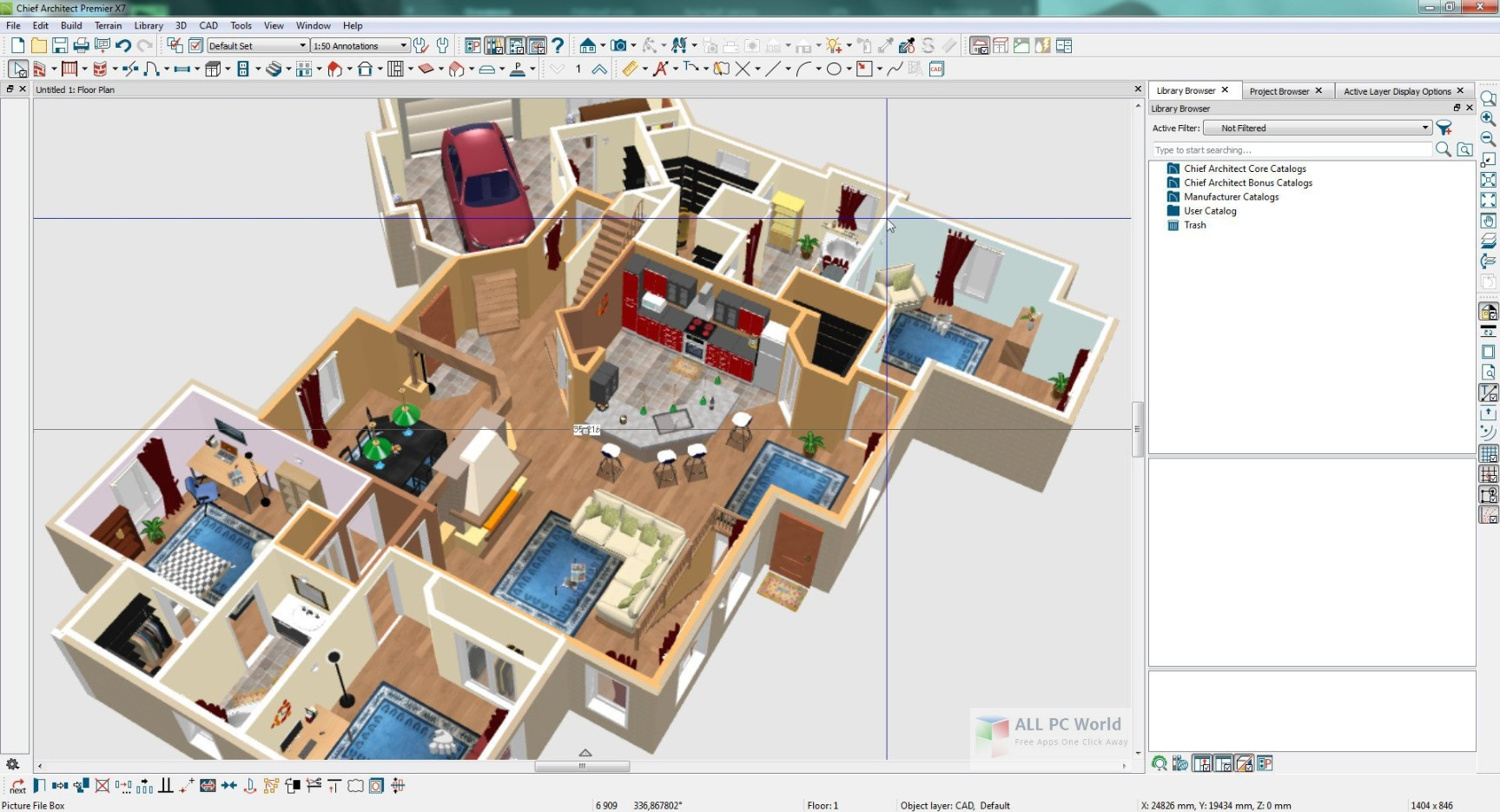 Chief Architect Home Designer Professional 2019 v20.3