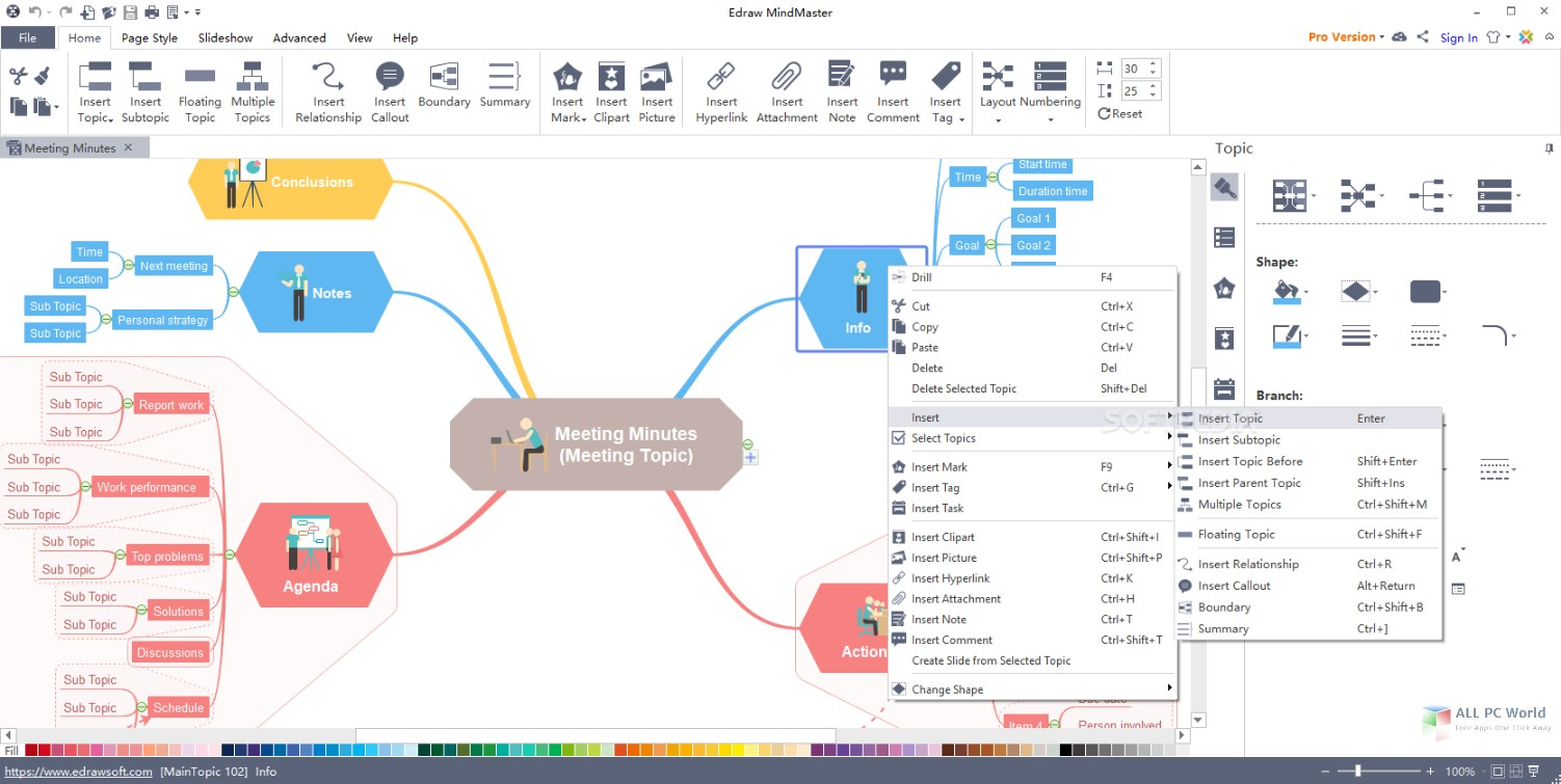 Edraw MindMaster Pro 6.3 Free Download