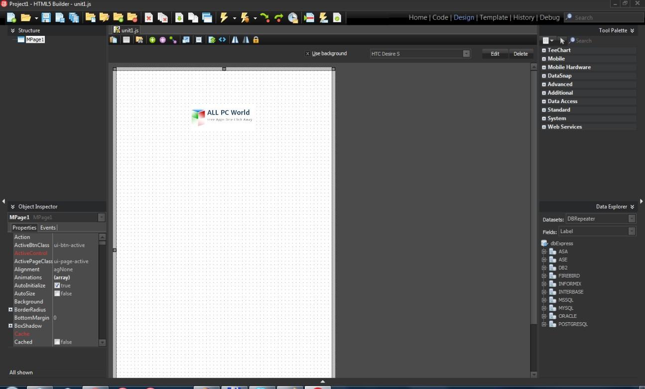 Embarcadero HTML5 Builder 5.0