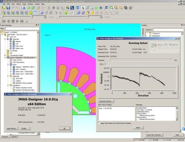 JMAG-Designer 17.1 Free Download