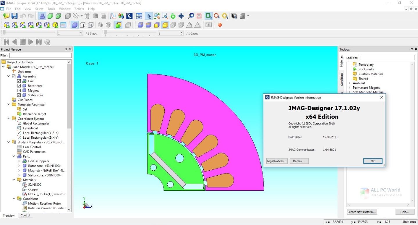 JMAG-Designer 17.1