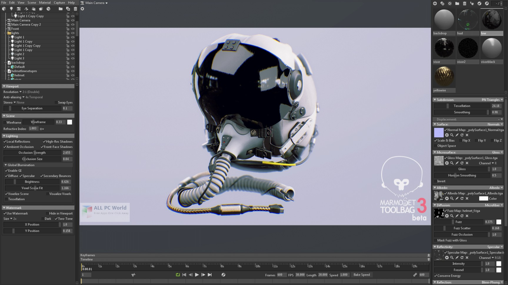 Marmoset Toolbag 3.0 Free Download