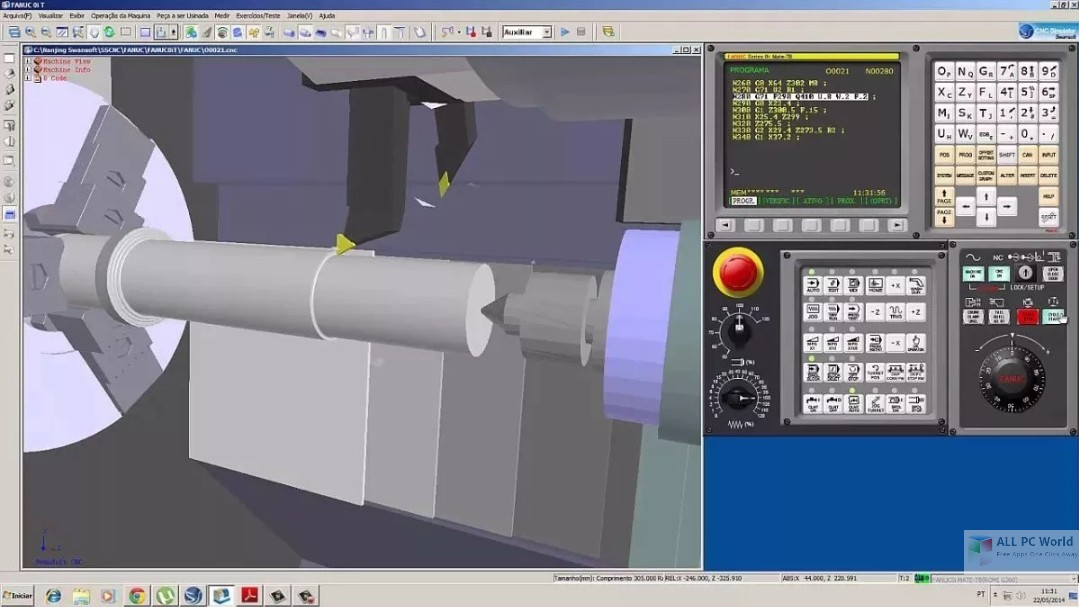 Nanjing Swansoft CNC Simulator 7.2 Free Download