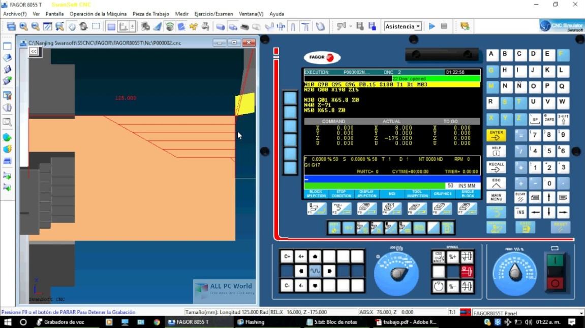 Nanjing Swansoft CNC Simulator 7 2 Free Download - ALL PC World