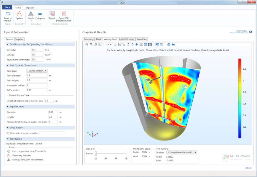 COMSOL Multiphysics 5.4