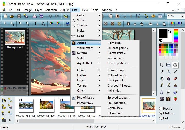 PhotoFiltre Studio X 10.13 Free Download