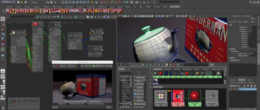 Pixar RenderMan Free Download