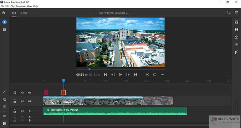 Adobe Premiere Rush CC 2019