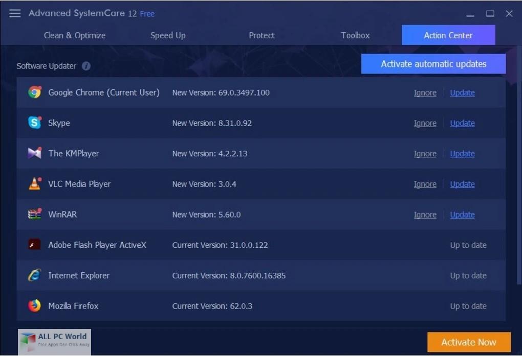 Advanced SystemCare Pro 12.0