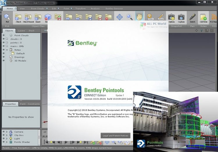 Bentley Pointools Connect Edition 10.0