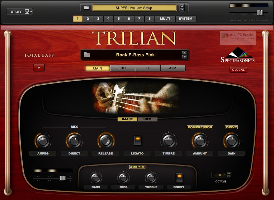 Spectrasonics Trilian VSTi