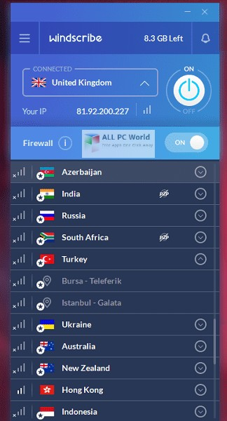 Windscribe Pro 1.7 Free Download