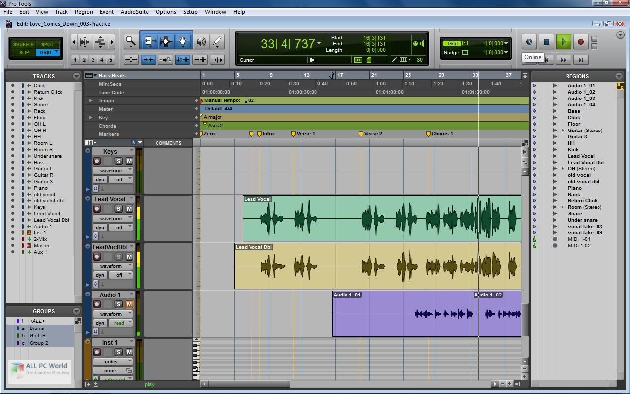 Avid Pro Tools HD 10 3 Free Download - ALL PC World