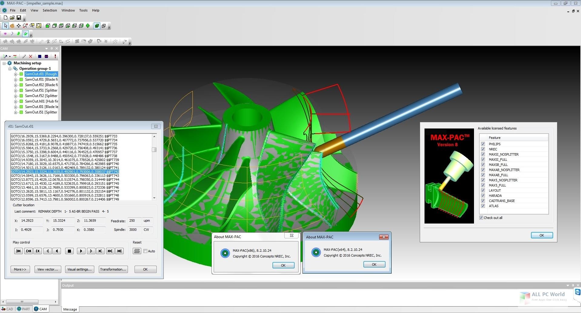 Concepts NREC MAX-PAC 8.7