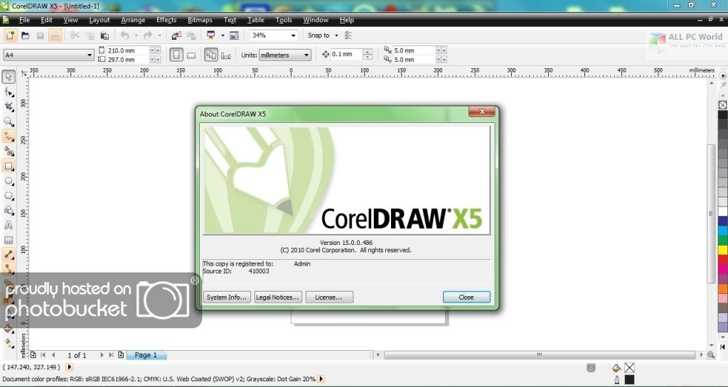 corel draw x5 free trial software download