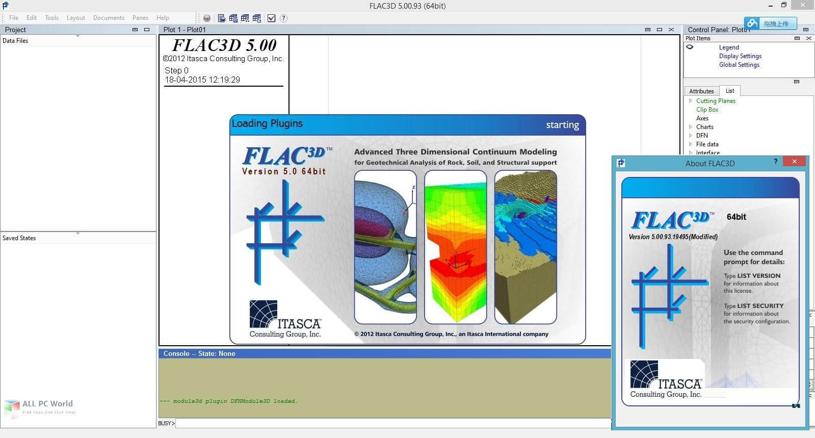 Itasca FLAC3D 5.0 Free Download