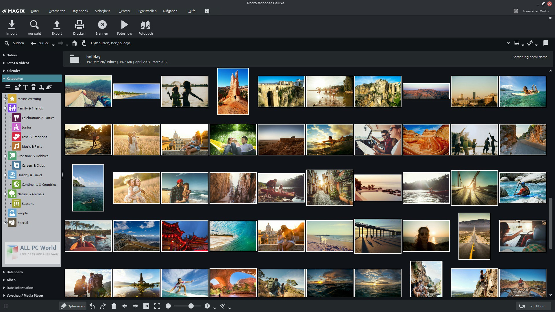 MAGIX Photo Manager 17 Deluxe 13.1
