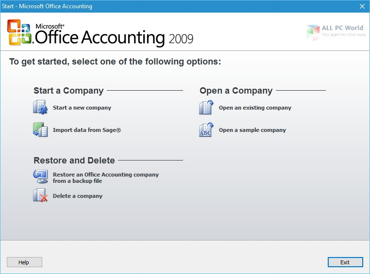 Microsoft Office Accounting Express US Edition 2009