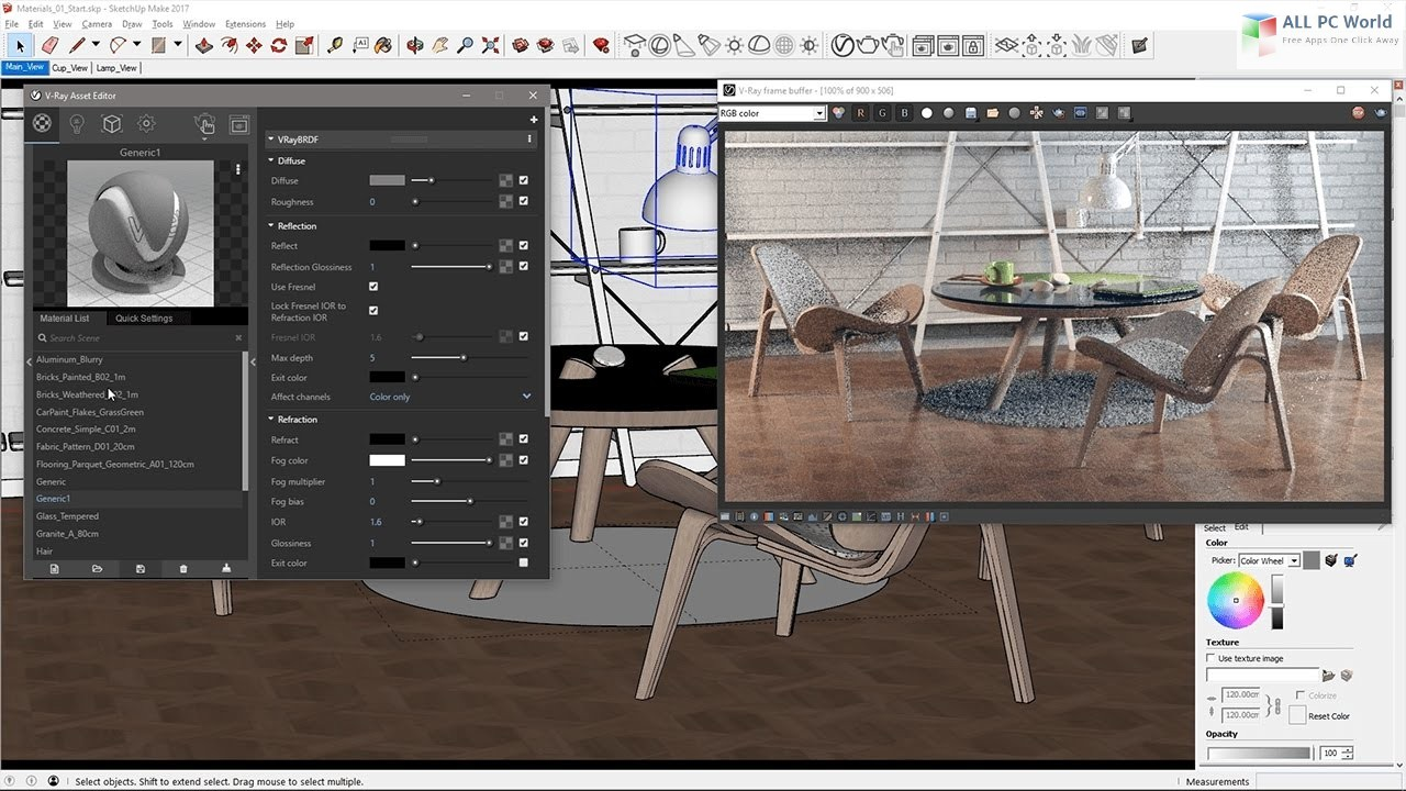 V-Ray 3 6 for SketchUp 2018 Free Download - ALL PC World