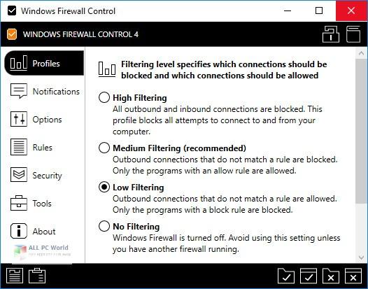 Windows Firewall Control 5.4 Free Download
