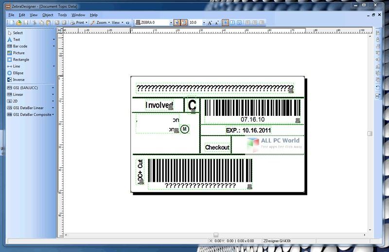 zebra designer pro 2 software