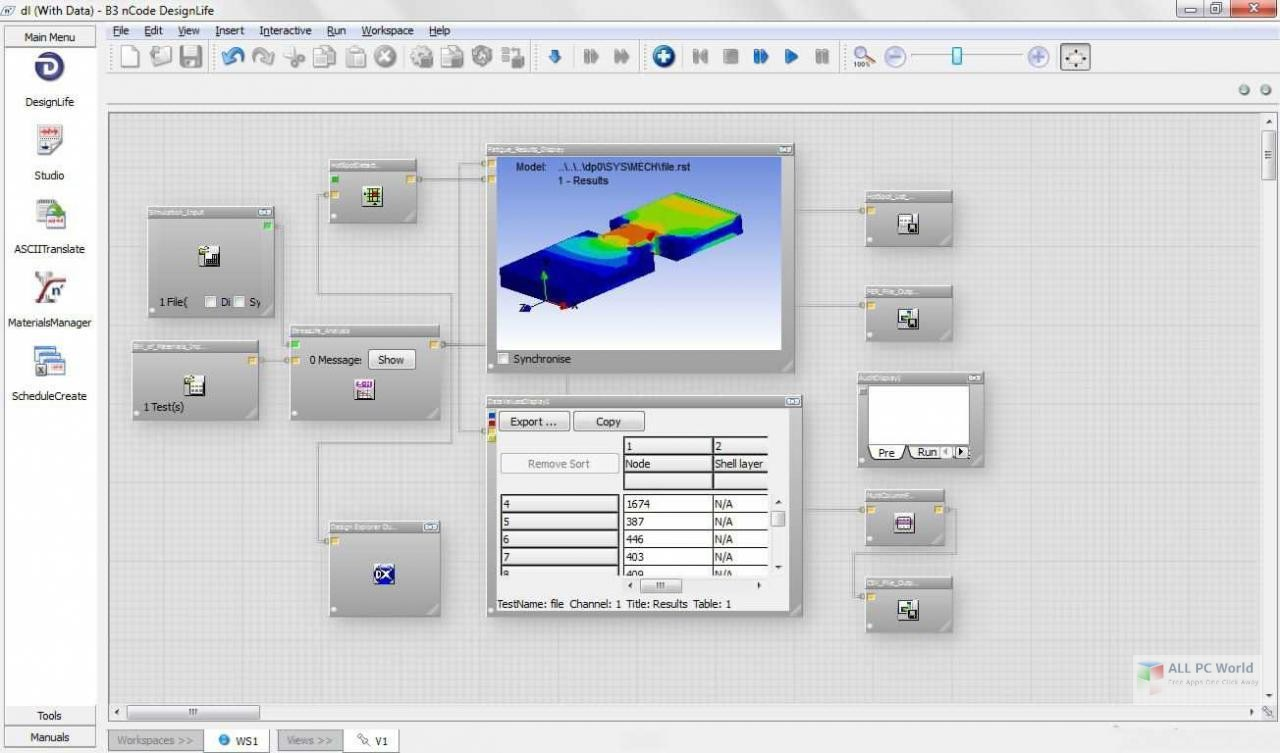 ANSYS nCode DesignLife 2019 R1 Free Download