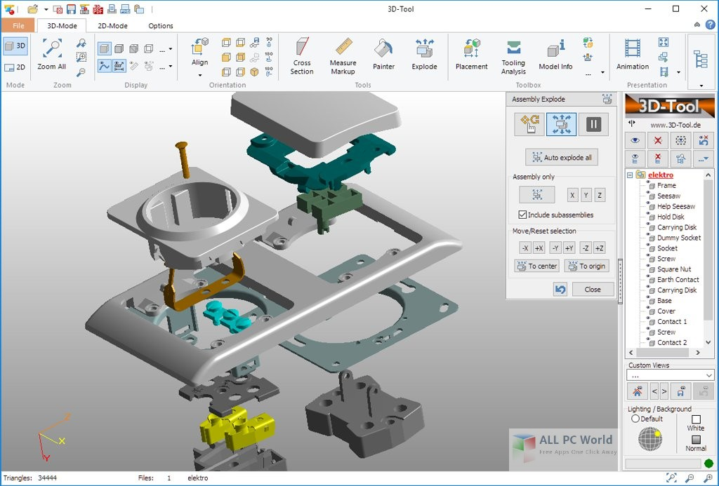 3D-Tool Premium 13.2 Free Download