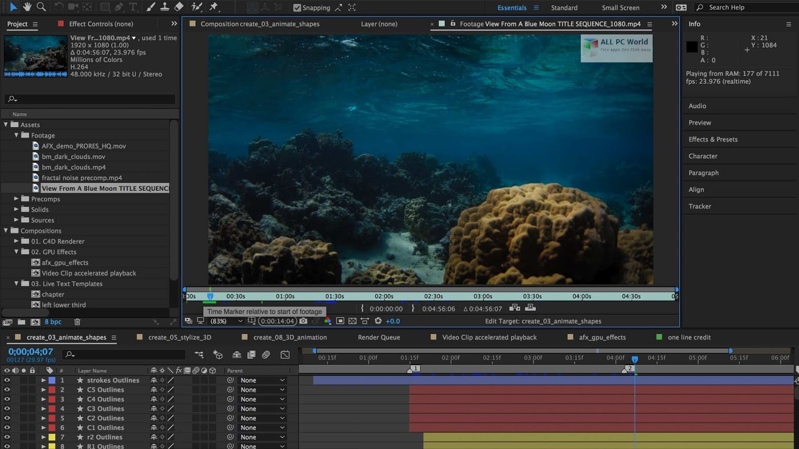 download adobe after effects cc for free