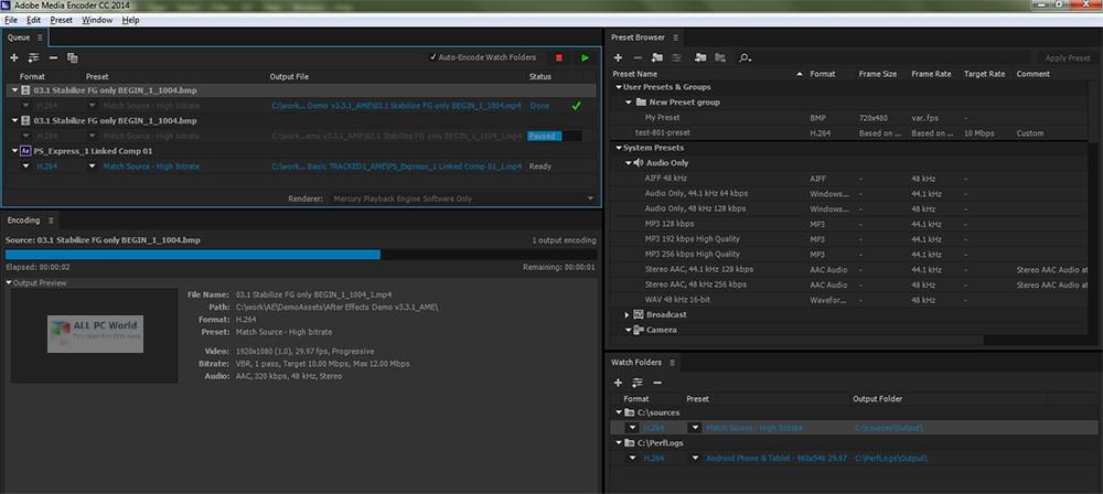 Adobe Media Encoder CC 2019 v13.1