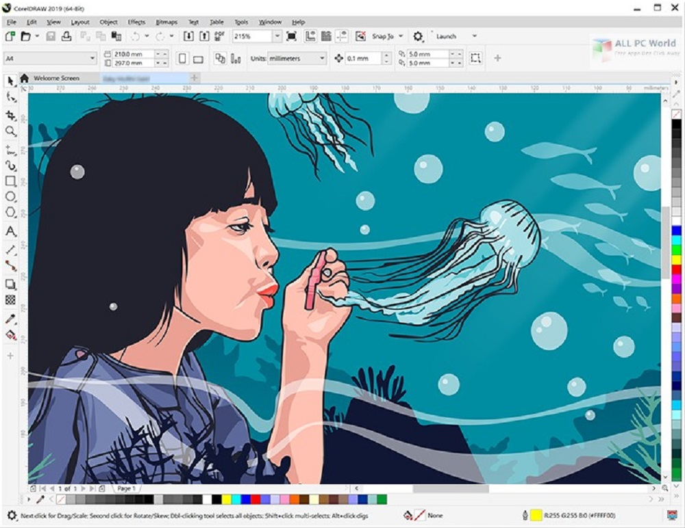 CorelDRAW Graphics Suite 2019 v21 0 Free Download - ALL PC World