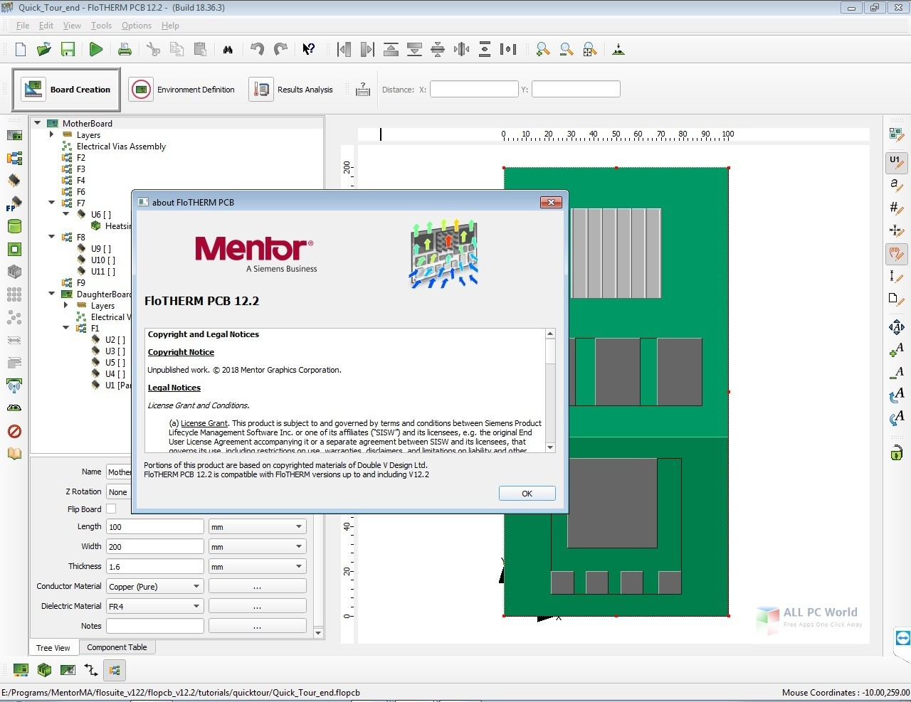 Mentor Graphics FloTHERM Suite 12 2 Free Download - ALL PC World