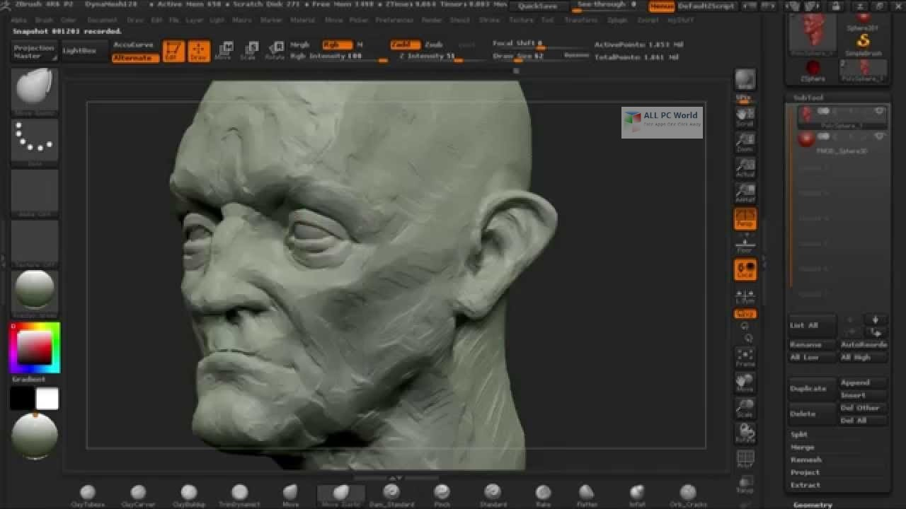 Pixologic ZBrush 2019 Free Download - ALL PC World