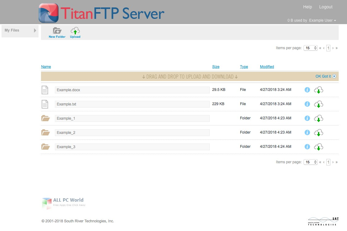 Titan FTP Server Enterprise 2019