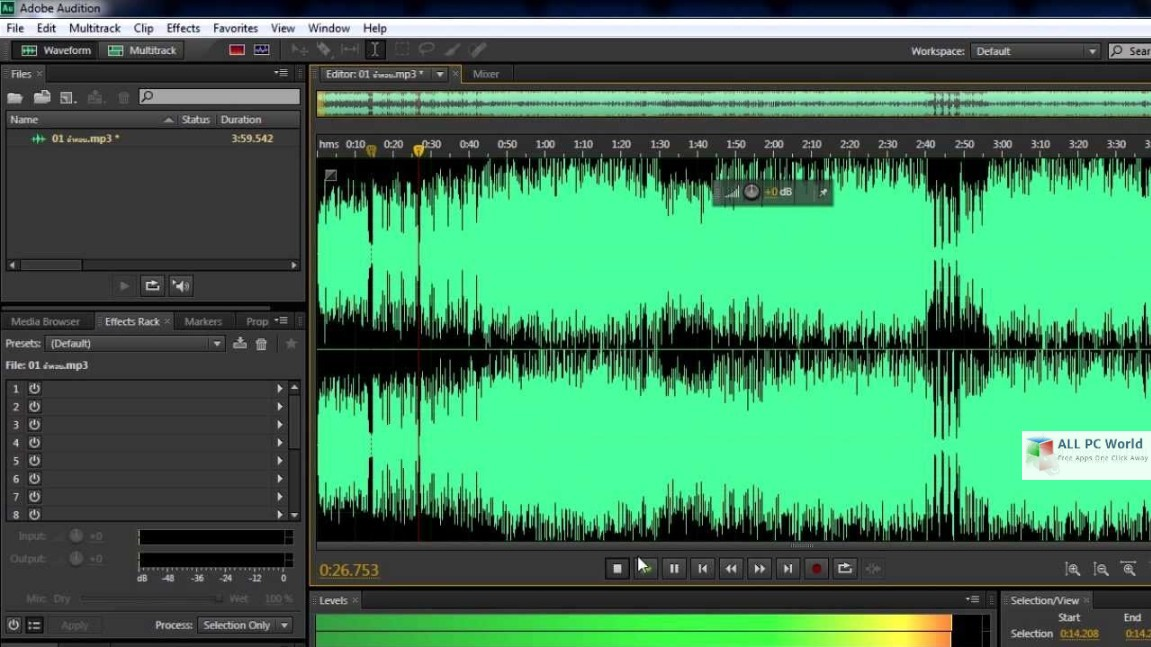 Adobe Audition CC 2019 v12.1 Free Download