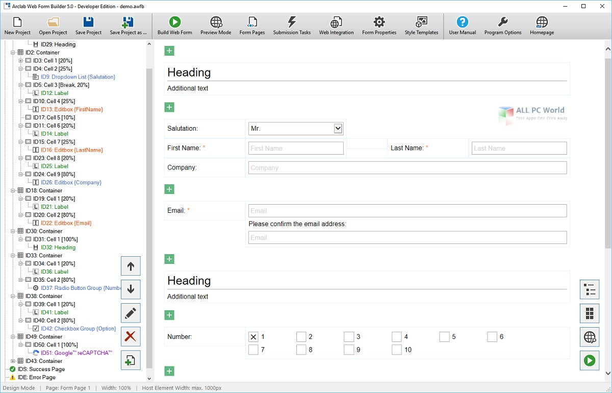 Web builder 5 0 free download